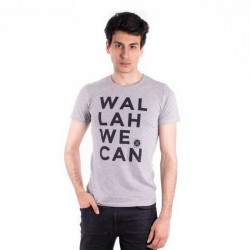 T-SHIRT HOMME WALLAH WE CAN