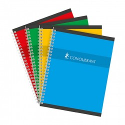 Cahier spirales Conquerant...
