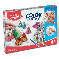 Maped Creativ Activité enfants | Jeu de mémoire à colorier vente en ligne maped tunisie