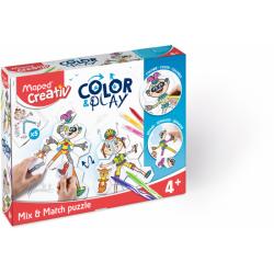 Puzzle mix et match color &...