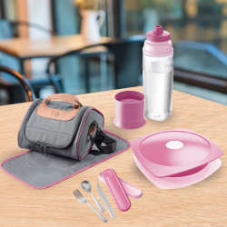 PACK LUNCH ADULTE Rose