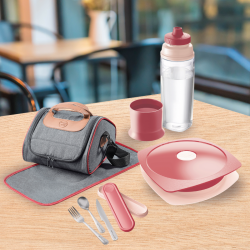 PACK LUNCH ADULTE Rouge