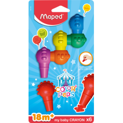 COLOR'PEPS BABY CRAYONS,...